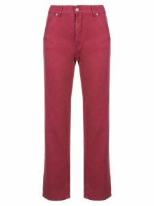 Jacquemus straight-leg jeans - Red
