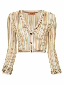 Missoni fine knit cardigan - Multicolour