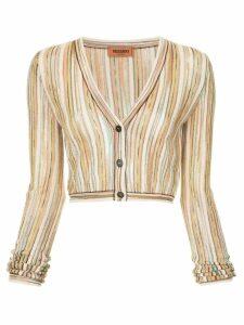 Missoni fine knit cardigan - Multicolour