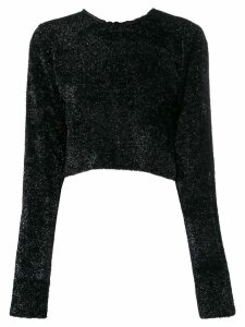 Comme Des Garçons Noir Kei Ninomiya cropped jumper - Black