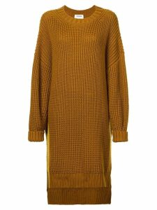 Monse oversized high low jumper - Brown