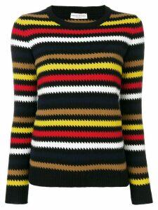 Sonia Rykiel striped sweater - Black