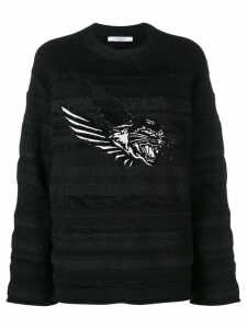 Givenchy flying cat sweater - Black