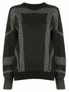 IRO striped jumper - Black