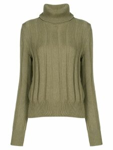 The Gigi turtle neck jumper - Green