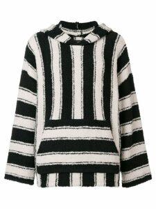 Amiri striped knitted top - Black