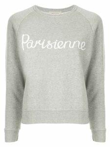 Maison Kitsuné Parisienne jersey sweater - Grey