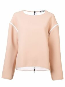 Maticevski dropped shoulder top - PINK