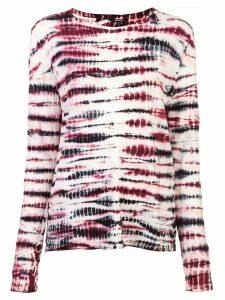 Proenza Schouler Tie Dye Long Sleeve T-Shirt - Multicolour