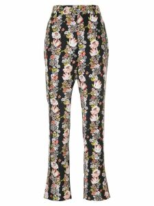 Equipment floral flared trousers - Multicolour