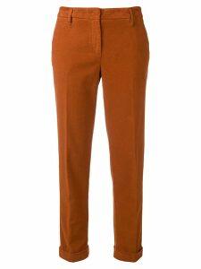 Aspesi high waisted trousers - ORANGE
