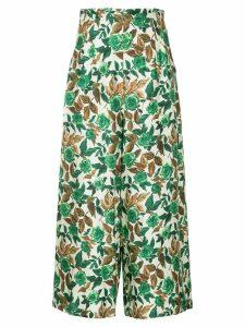 Rachel Comey floral-print trousers - Multicolour