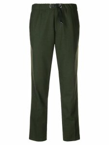 White Sand side stripes trousers - Green