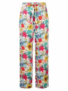 Baum Und Pferdgarten national bloom print trousers - Multicolour
