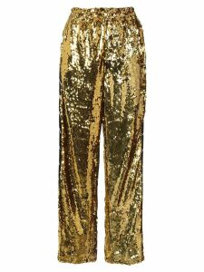 Faith Connexion Sequinned track trousers - Metallic