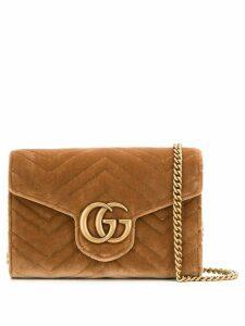 Gucci square crossbody bag - Brown