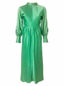 A.N.G.E.L.O. Vintage Cult pleated longsleeved gown - Green