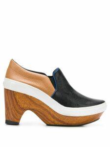 Y-3 By Yohji Yamamoto Vintage 2000's platform loafers - Black