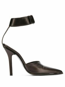 Gucci Pre-Owned 1990's ankle strap pumps - Brown