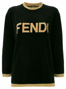 Fendi Pre-Owned long sleeve sweatshirt - Black