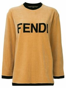 Fendi Pre-Owned long sleeve sweatshirt - Brown