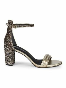 Lex Metallic Leather Sandals