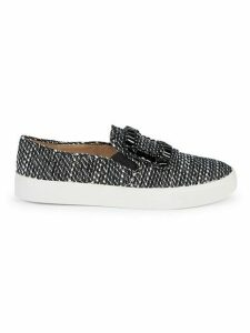 Ermine Embellished Sneakers