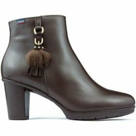CallagHan  SIERRA ANTIC DANA Booties  women's Low Ankle Boots in Brown