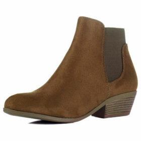 Spylovebuy  Elefant  women's Low Ankle Boots in Brown