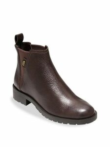 Grand OS Calandra Leather Ankle Boots