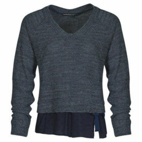 Mado Et Les Autres  2 in 1 sweater, shirt effect  women's Sweater in Blue