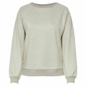 Only  SUDADERA  onlELLA S/L BATWING O-NECK SWT  women's Sweatshirt in White