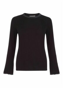 Helen Merino Wool Sweater Black