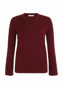 Helen Merino Wool Sweater Burgundy