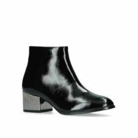 Womens Alice London Rebel Black Heeled Boots, 7 UK