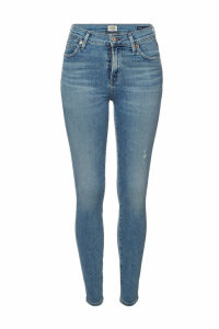 Citizens of Humanity Rocket High-Rise Skinny Jeans with Distressed Detail