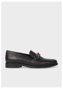 Women's Black Calf Leather 'Cora' Loafers