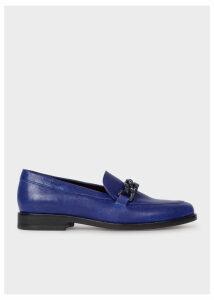 Women's Indigo Calf Leather 'Cora' Loafers