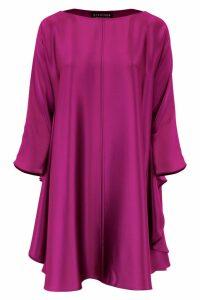 Gianluca Capannolo Bat Sleeves Dress