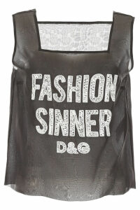 Dolce & Gabbana Fashion Sinner Top