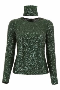 Gianluca Capannolo Sequins Top
