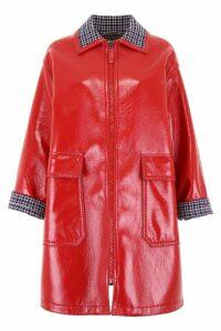 Bottega Veneta Waxed Coat