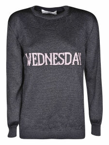 Alberta Ferretti Wednesday Knit Sweater