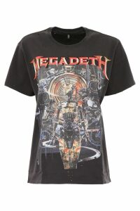 R13 Megadeth Print T-shirt