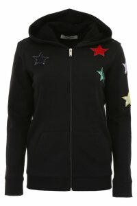 Valentino Hoodie With Star Patches