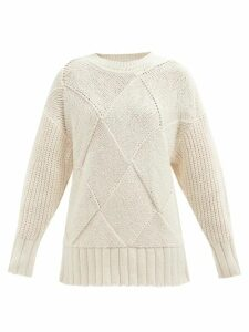 Melissa Odabash - Inny Striped Cotton Shirt - Womens - Red Stripe
