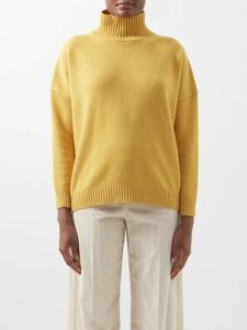 Burberry - Awakino Cable Knit Cashmere Sweater - Womens - Grey