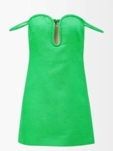 Roland Mouret - Demois Silk-georgette Blouse - Womens - Navy Multi