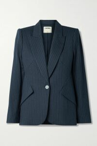 Chloé - Printed Pussy-bow Silk-crepe Blouse - Blush