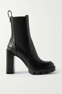 Roland Mouret - Tavistock Draped Asymmetric Silk-crepe Marocain Top - Burgundy